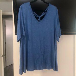Lane Bryant blouse, size 22/24